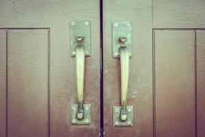 vintage deurknop foto