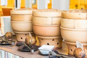dimsum knoedel, Chinees eten