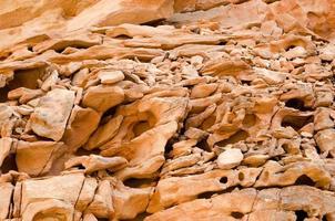 oranje rotsachtige textuur