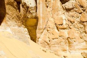 zand en steen foto