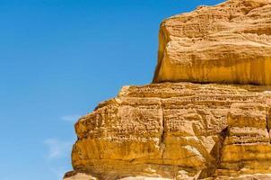 rotsen en lucht foto