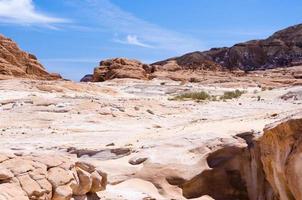 rotsachtig berglandschap foto