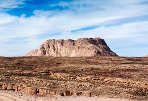 plateau in de woestijn