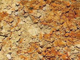 stukje grond voor achtergrond of textuur foto