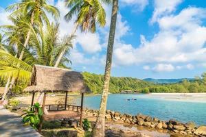strand en zee in thailand