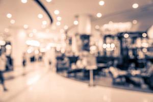 abstract winkelcentrum interieur achtergrond wazig