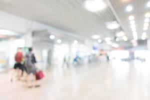 abstracte onscherpte luchthaven