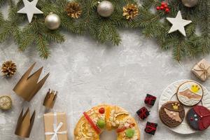 zelfgemaakte epiphany dessertkronen geschenken foto