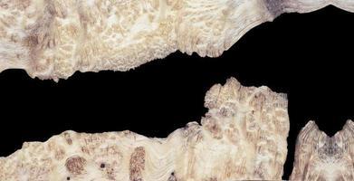 bovenaanzicht gieten epoxyhars walnoot burl hout achtergrondstructuur foto