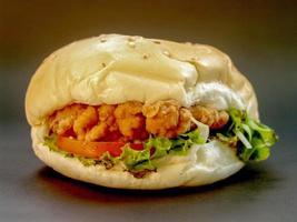 hamburger eten foto