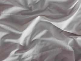 detail van een wit laken foto