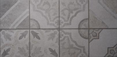retro spanje keukentegel ontwerp, mozaïek retro wandtegel foto
