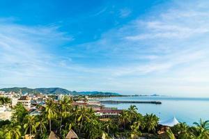 hua hin stad in thailand foto