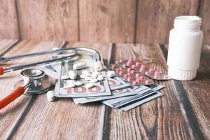 gezondheidszorg kosten concept
