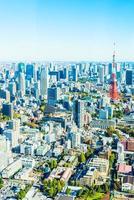 tokyo stadsgezicht in japan