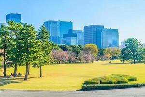 skyline van tokyo in japan