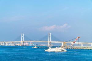 Yokohama-brug in Yokohama, Japan foto