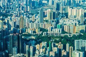 gebouwen van hong kong, china foto
