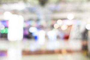 abstracte onscherpte superstore en winkelcentrum