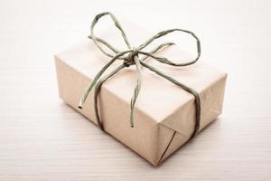 bruine geschenkdoos