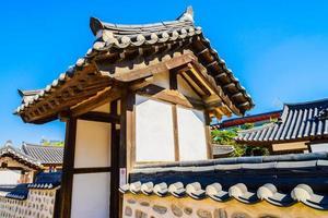 namsangol hanok dorp in seoel, zuid-korea