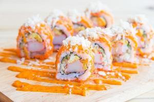zalm sushi roll