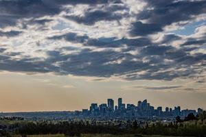 vroeg in de ochtend boven Edworthy Park foto