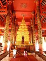 Lampang, Thailand 2013- Wat Phra That Lampang Luang Temple foto