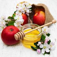 appels met honing foto
