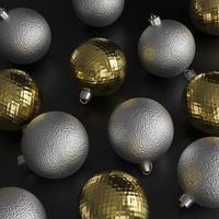 kerst ornamenten concept foto