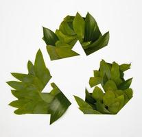 milieuvriendelijk recyclingconcept foto