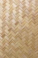 bamboe weven textuur voor achtergrond foto
