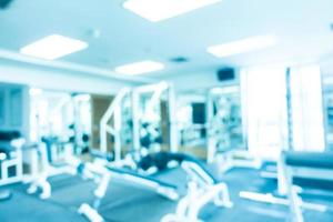 abstracte onscherpte fitness en sportschool foto