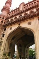 Hyderabad, India 2019 - Charminar-moskee en monument foto