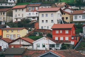 architectuur bouwen in bilbao city, spanje, reisbestemming foto