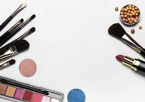 make-up met kopie ruimte foto