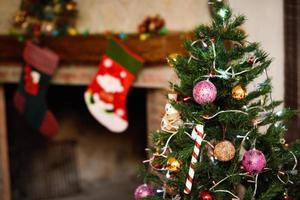 kerst vakantie achtergrond foto