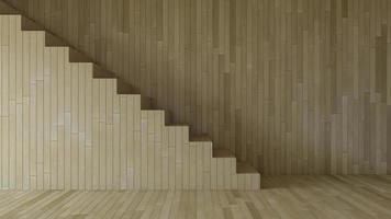 3D-rendering afbeelding van interieur woonkamer foto