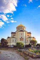 vladimir kathedraal in chersonesos foto