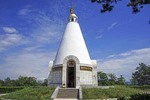 kerk-kapel van st. george op sapun berg foto