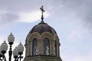 kapel van de nieuwe martelaren en biechtvaders van Rusland. foto