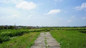 het grondgebied van het archeologisch museum in taman tmutarakan foto