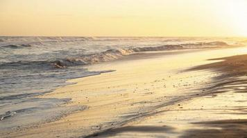 vredig uitzicht op de oceaan foto