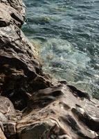 oceaan getijden zwembad foto
