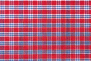 rode en blauwe geruite patroon textuur achtergrond foto