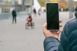 foto's maken met de smartphone foto