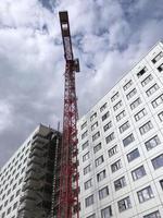 gebouw in aanbouw foto