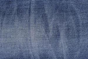bovenaanzicht denim stof textuur achtergrond foto