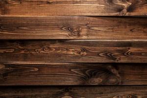 bruine houten achtergrond of textuur foto