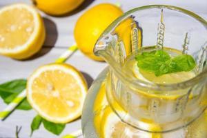 citroen en limonade foto